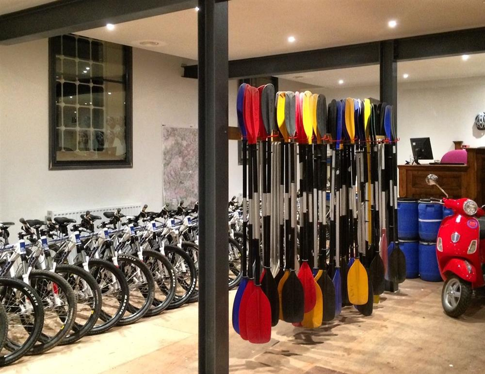 Bikes and Canoe Hire