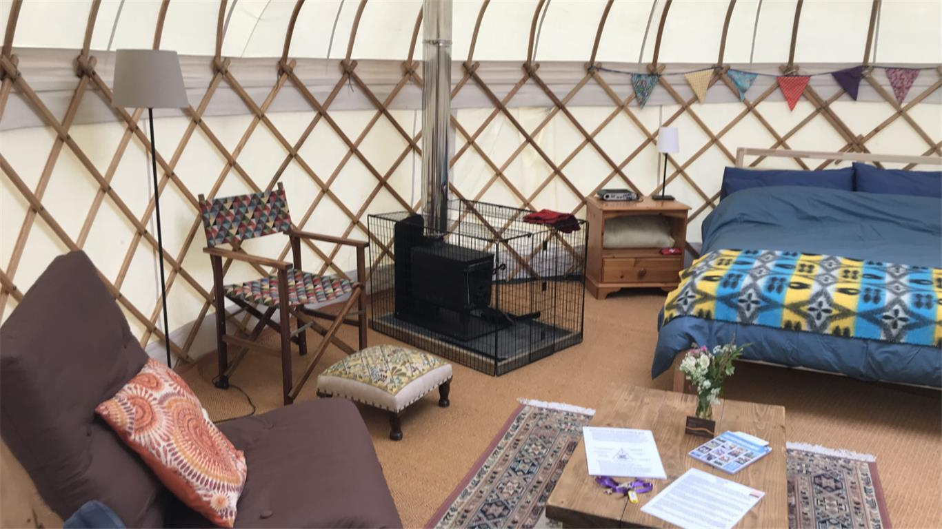 Bramley Yurt