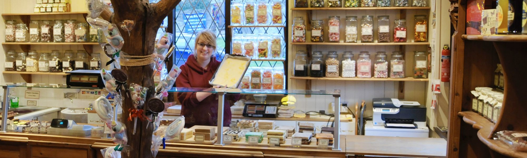 The Fudge Shop, handmade fudge in Hay-on-Wye