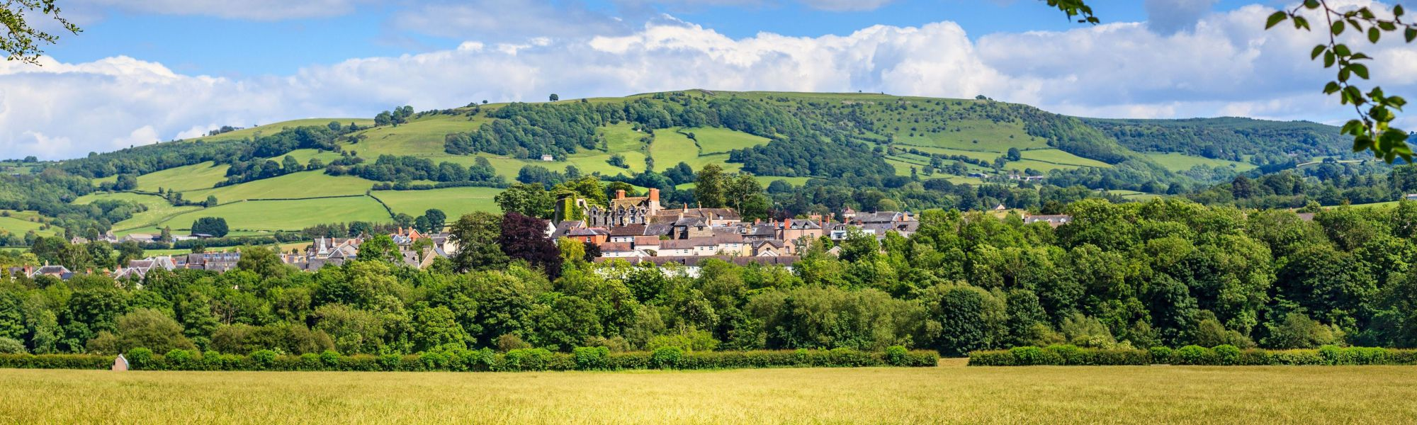 Hay-on-Wye in summer